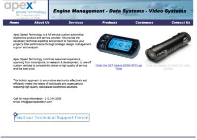 Apex Speed Technology